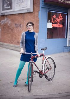 Kim rides a lugged Miyata frame converted to fixed gear for easy cleaning and upkeep in the winter Tell me more about your bike: This i. Bicycle Women, Bicycle Girl, Cycle Chic, Bicycle Maintenance, Cool Bike Accessories, Bike Style, Kimono, California, Fancy