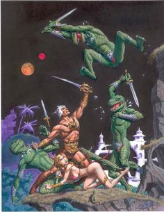 Dejah Thoris by Fastner & Larson