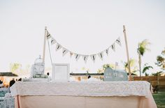 Vintage Glam Backyard Wedding: Heather + Kyle