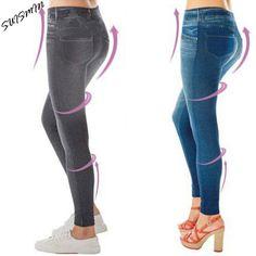 32af935c1d0da2 Plue Size XL/XXL Women Fleece Lined Winter Jegging Jean Hot Sale Genie Slim  Fashion