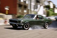"1968 Ford Mustang GT390 Fastback in ""Highland Green."""
