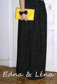 Celà fait un moment déjà, que j'avais envie d'une jupe longue. J'ai vu de très jolis looks composés à partir de cette pièce qui fait son ret...