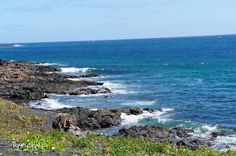 Atlantic Ocean at Costa Teguise Lanzarote. /Widok z Lanzarote na Ocean Atlantycki Lanzarote Visit my blog: http://tygrysiaki.pl/