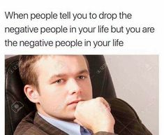 Tag yourself it you're the negativity on your life👆🏻👆🏻👆🏻😂🤣🤣🤣🤣… – tacky-atom Dankest Memes, Funny Memes, Hilarious, Jokes, Funny Shit, Funny Stuff, Negative People, I Can Relate, The Funny