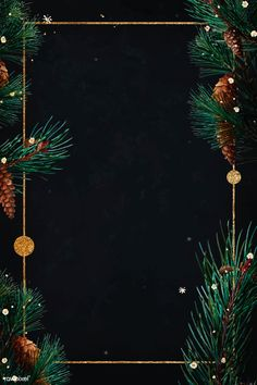 premium vector of Blank golden rectangle Christmas frame vector - Blank golden rectangle Christmas frame vector Wallpaper Natal, Golden Wallpaper, Wallpaper Space, Black Wallpaper, Christmas Poster, Christmas Frames, Christmas Cards, Merry Christmas Background, Backgrounds White