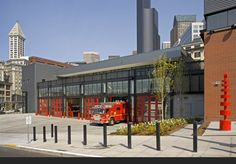 | TCA Architecture & Planning | Seattle City of Seattle, Fire Station 10 | Weinstein A|U & TCA  LEED Silver Sustainable