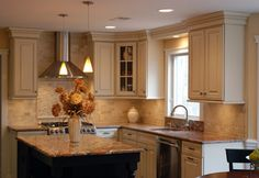 kitchen design center llc homecrest maple bayport toffee stain kitchens 687