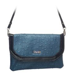 """Tess-Teal Grace Adele Clutch    Chic and smart, Tess marries timeless styling with luxe materials. A detachable strap and interior pockets mean you'll use this clutch for just about everything.     Fits inside the exterior pocket on your favorite Grace Adele bag.           • Faux leather  • 9"""" L, 6"""" H  • 26.5"""" detachable strap  • 7"""" wrist wrap    https://myfashions.graceadele.us/GraceAdele/Buy/ProductDetails/10628"""