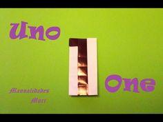 Origami - Papiroflexia. Número Uno / Number One