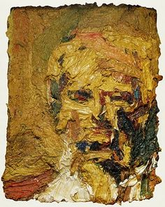 Hard-won images: Frank Auerbach and Alberto Giacometti Frank Auerbach, Alberto Giacometti, Figure Painting, Painting & Drawing, Painting Prints, Les Fables, Royal Academy Of Arts, Abstract Portrait, Tachisme