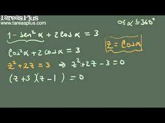 Solución de una ecuación trigonométrica ejemplo 1