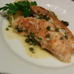 """Quick Chicken Piccata   """"I've made this dish twice now and it is one of my favorites!"""""""