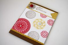Stampin' up Lacy & Lovely