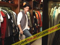 """I get put off by ill-fitting jeans"" - SRK  - Filmfare Oct 2013"