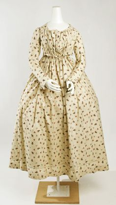 Met Museum  Date:1797–98 Culture:French Medium:Cotton Credit Line:Rogers Fund, 1926 Accession Number:26.233.7a, b