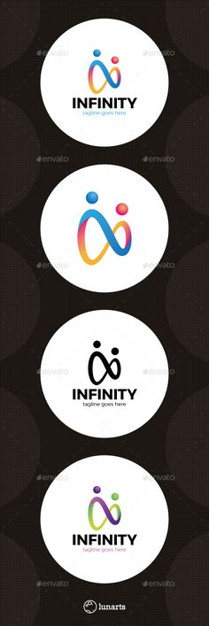 Two Man Infinity Logo  #modern #new #people • Available here → http://graphicriver.net/item/two-man-infinity-logo/15489604?ref=pxcr