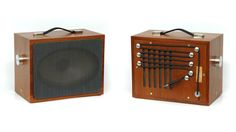Delightful Vintage Speakers Resurrected for Your Music Player