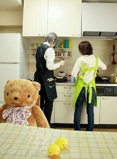 Cosplay of Misaki and Usagi. Junjou Romantica.. Omg... IT IS PERFECT! HAVE TO DO! I LOVE IT!