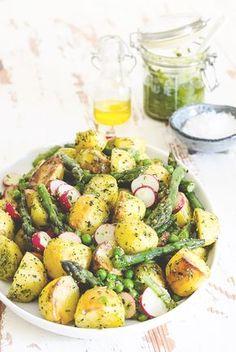 Vegetarian Recipes, Healthy Recipes, Healthy Food, Vegan Detox, Grilling Recipes, Potato Salad, Avocado, Bbq, Food Porn