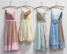Image result for muted rainbow dress