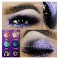 Bh Cosmetics Galaxy Chic Palette ❤ liked on Polyvore featuring accessories and bhcosmetics