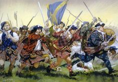Charge of the Jacobites, Battle of Culloden