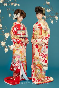 引振袖 Ethnic Fashion, Kimono Fashion, Asian Fashion, Kimono Japan, Japanese Kimono, Traditional Wedding Dresses, Traditional Outfits, Modern Kimono, Japanese Costume