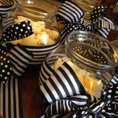 My Blk n white stripes polka dots w a hint of yellow Baby shower! Baby Shower Yellow, Baby Yellow, Birthday Party Decorations, Birthday Parties, Polka Dots, Stripes, Ideas, Anniversary Parties, Birthday Celebrations
