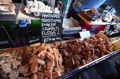 Fudge — £1.60 | How To Eat Everything At Borough Market For Only £20