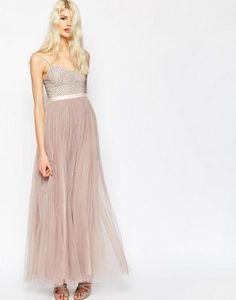 Needle & Thread Coppelia Embellished Ballet Tulle Maxi Dress