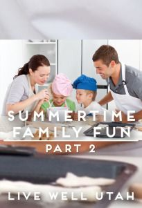 Spending time with family is important, but it can also be fun! We've got some great ideas to make your family time fun and memorable. LIVE WELL UTAH