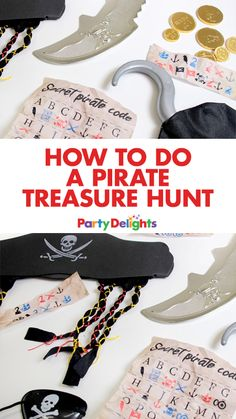 Looking for a fun pirate party game? How about organising a pirate treasure hunt? It's easy to set up, fun and we've made free printable pirate treasure hunt clues for you to download for free at blog.partydelights.co.uk.