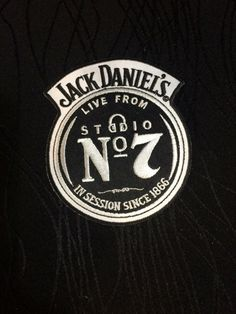 Vintage Jack Daniels Whiskey patch by JanetsVintagePlanet on Etsy