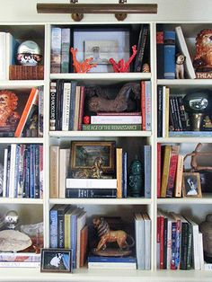 Notes from the Field: The Art of Styling Bookshelves   New England Home Magazine