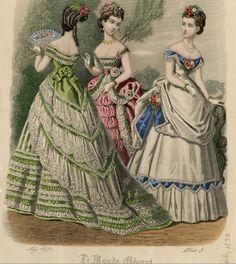 Le Monde Elégant 1870