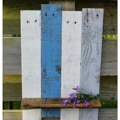 Rustic Reclaimed Solid Wood Shelf👌 / DIY / Pallets