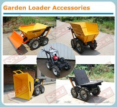 High quality Honda/B&S engine small garden loader /mini dumper /muck truck with 250kg capacity CE certificate