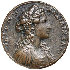 ROMAN SCHOOL, 16th century, Alessandro Cesati (active 1538-1564), Dido, Queen of Carthage, North Africa, bronze medal 43mm, (64.09 g),...Click VISIT to find out more and see 10,000+ Coins at MAD On Collections.  Check us out on Facebook - https://www.facebook.com/Mad-on-Coins-102632607015357/  Please feel free to pin or share this coin.