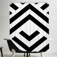 Americanflat Aztect Shower Curtain