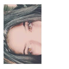 Vampire eyes.