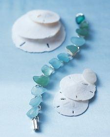 Sea glass bracelet