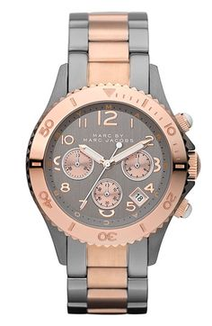 MARC BY MARC JACOBS 'Rock' Chronograph Bracelet Watch available at #Nordstrom