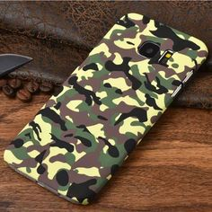 For Samsung Galaxy S7 Edge Case Military Camouflage Plastic Back Case Cover Fundas For Samsung S7 Edge Mobile Phone Accessories