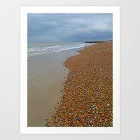 Brighton Beach by Carolyn Jones   Society6