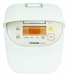 Panasonic SRMS183 10Cup Uncooked Fuzzy Logic Rice Cooker -- Click for Special Deals #KitchenAppliances