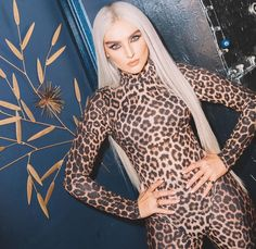 perrie dressed in leopard print is everything to me😍🔥 . Tag perrie please Sheer Bodysuit, Long Sleeve Bodysuit, Little Mix, Leopard Fashion, Perrie Edwards, Jumpsuits For Women, Clubwear, Push Up, Things That Bounce