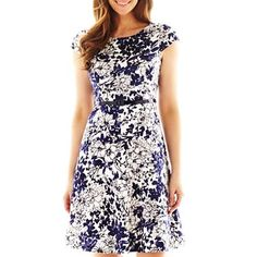 9 & Co.® Floral Print Swing Dress - dress I bought this weekend - Pt 1