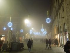 Perugia, Italy before Christmas