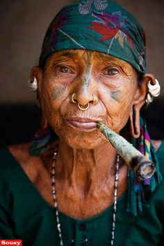 South American Indian Woman