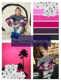"""Happy Birthday, Donghyuk"" by kyungstarz ❤ liked on Polyvore featuring art"